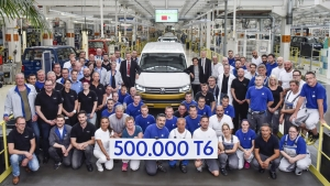 Mijlpaal: VW produceert 500.000e Transporter T6 in Hannover