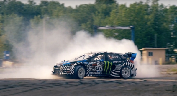 Ken Block Gymkhana 9 (video)