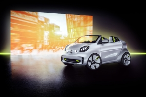smart forease @ Paris Motor Show