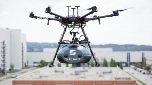 SEAT zet drones in voor just-in-time leveringen